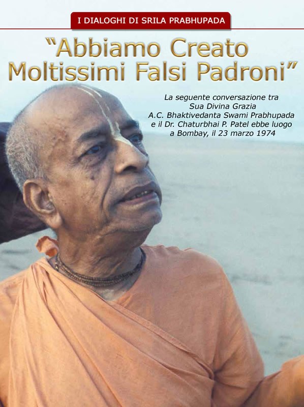 I dialoghi di Srila Prabhupada: